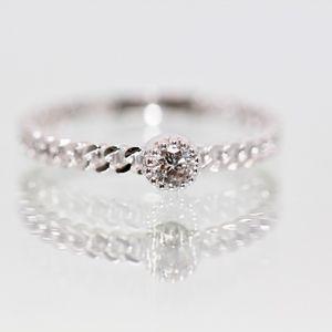 """Stunning 14k White Gold Diamond """"Forever Ring"""""""